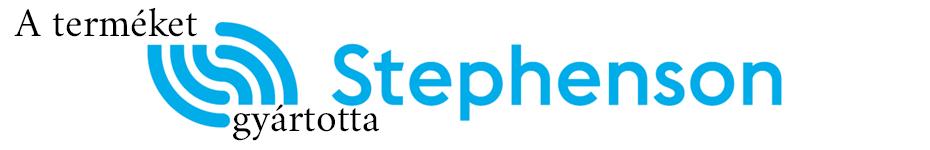 A terméket gyártotta: Stephenson